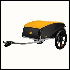 Retrospec Rover Hauler Cargo Foldable Bike Trailer - Sun