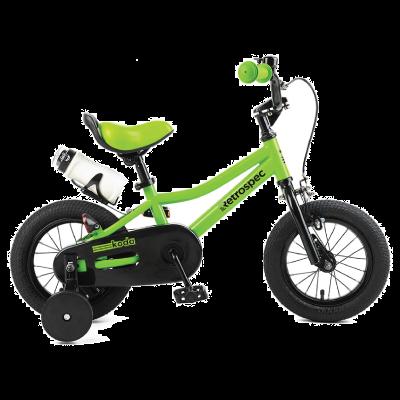 """Retrospec Koda 12"""" Kids Bike with Training Wheels - Eco Green"""