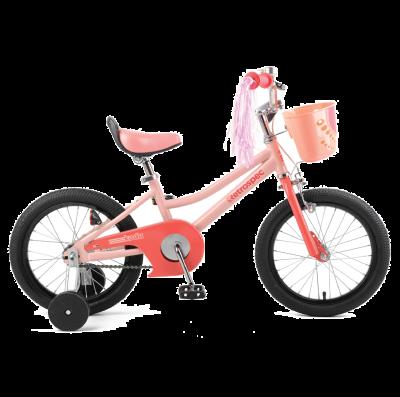 "Retrospec Koda 16"" Kids Bike with Training Wheels - Blush Pink"