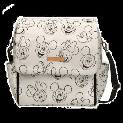 Petunia Pickle Bottom Boxy Backpack - Sketchbook Mickey & Minnie