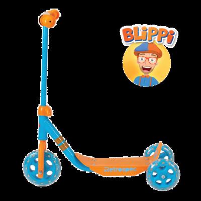 Retrospec Chippy 3-Wheeled Kick Scooter - Blippi