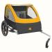 Retrospec Rover Two Passenger Children's Foldable Bike Trailer - Sun